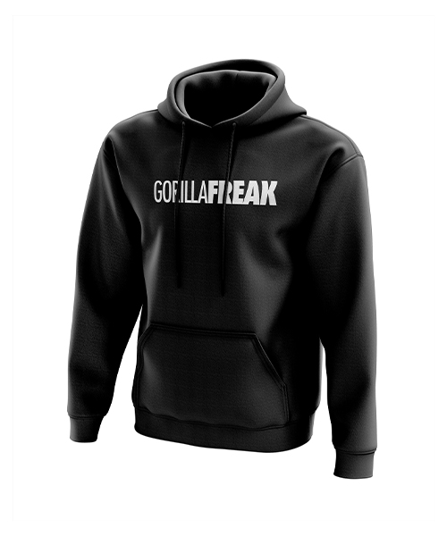 Urban Gym wear mens black hoody